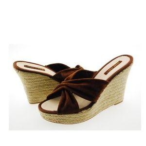 Nine West Jocelyn Womens Sandal Shoes (6, brown)